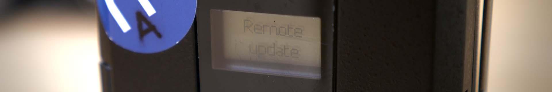 Sennheiser AVX Remote Update Closeup