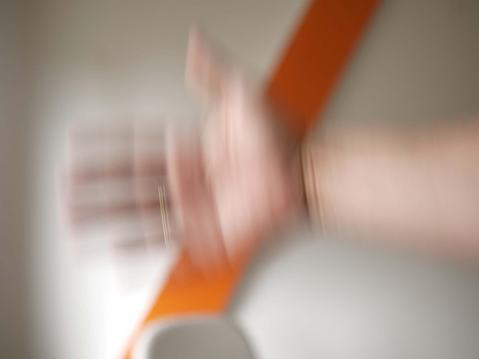 Bewegungsunschärfe 1/10 sekunde