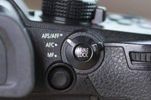 Autofocus knob