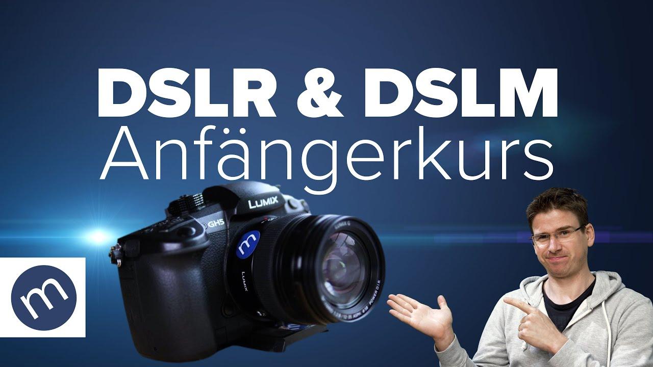 Filmen mit DSLR und DSLM