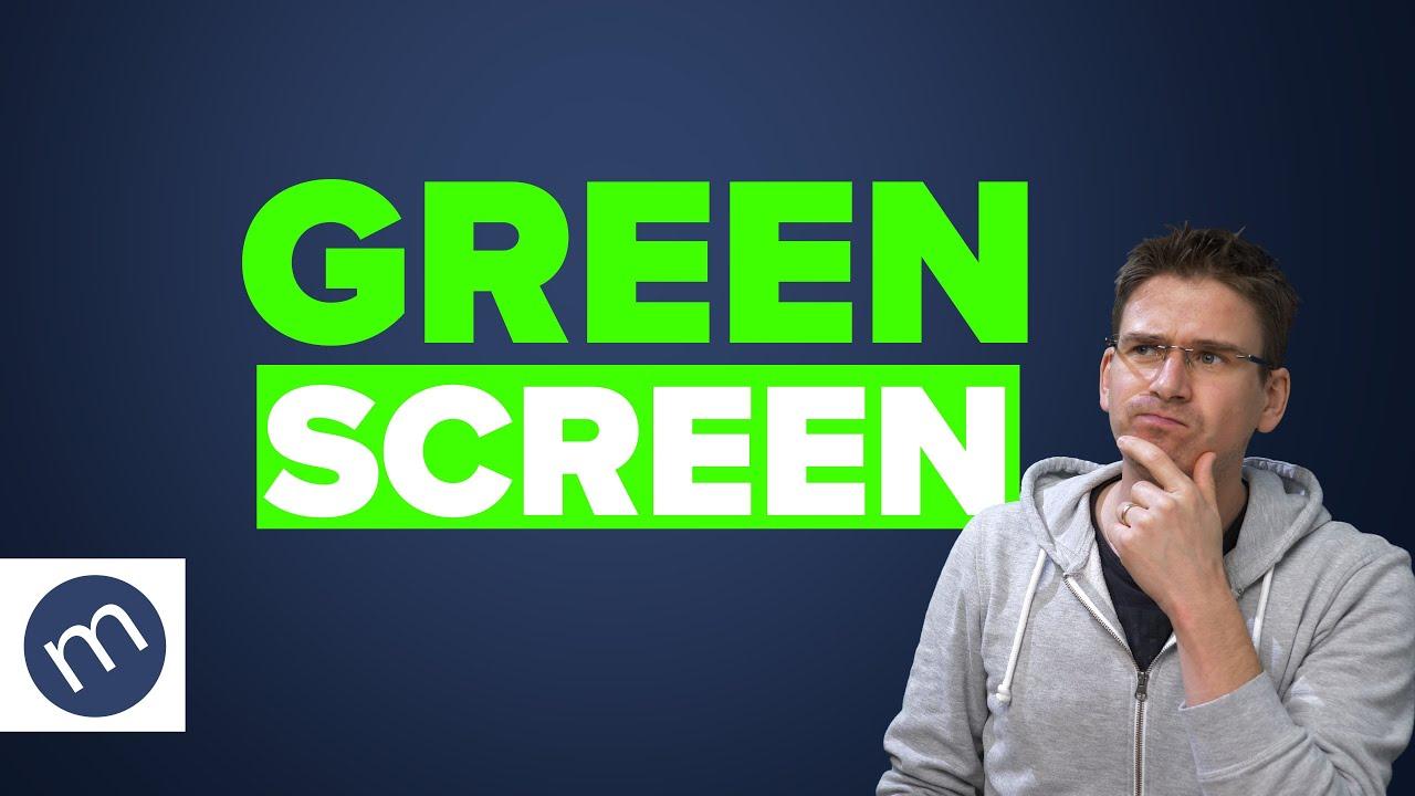 Wie funktioniert ein Greenscreen