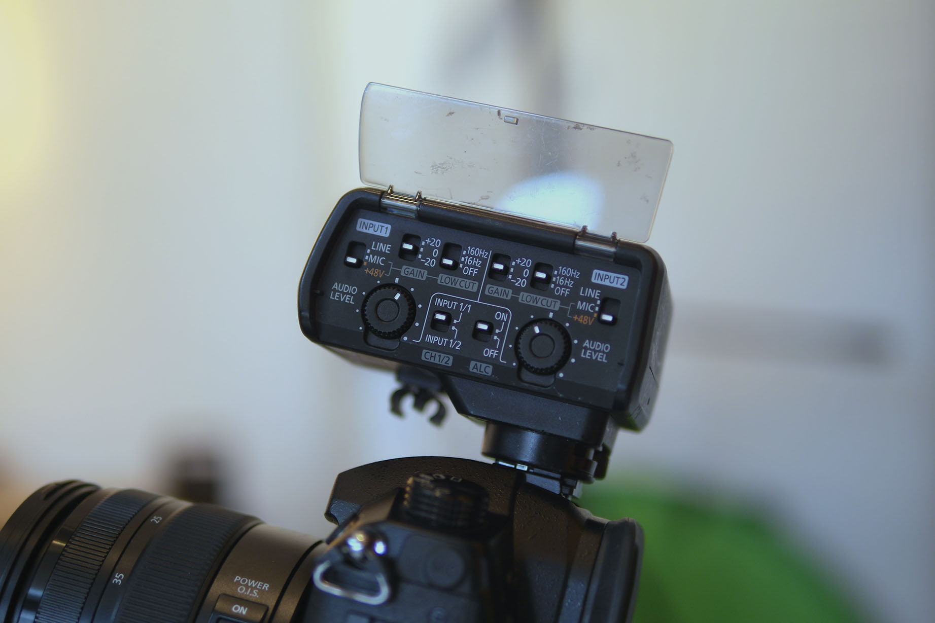 gh5 mikrofon adapter