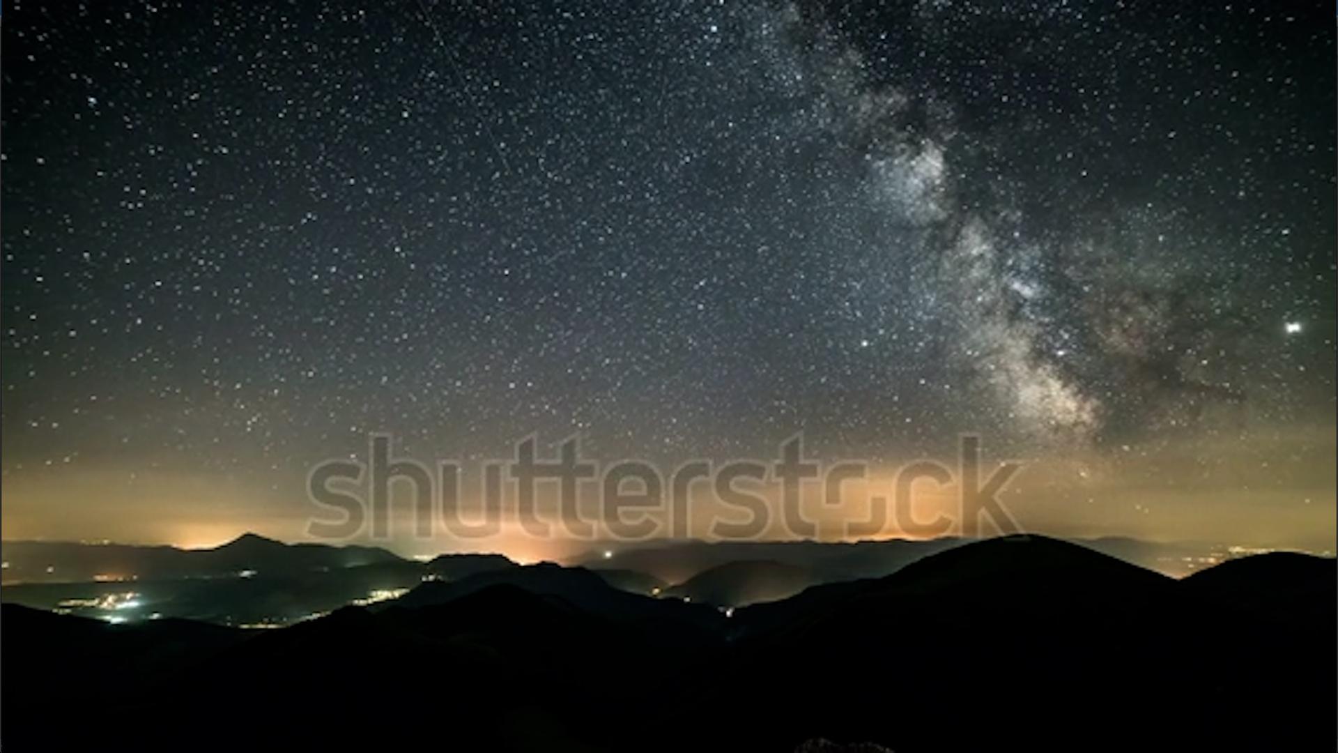 shutterstock star timelapse